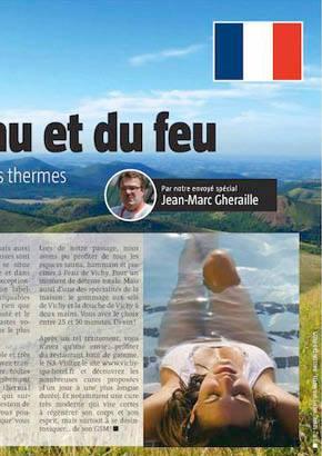 Sud Press : l'eau thermale et les volcans d'Auvergne