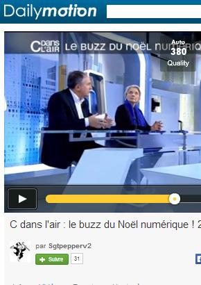 C dans l'air 24 décembre 2013 : Le buzz du Noël numérique & Digital Detox Vichy.