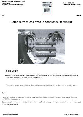 technique coherence cardiaque logiciel symbiofi