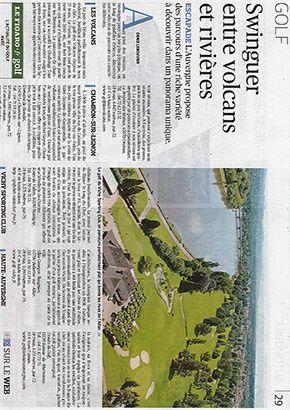 Le Figaro : Swinguer entre volcans et rivières