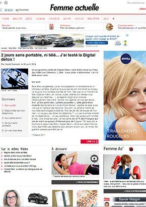 Femmeactuelle.fr : 2 jours sans portable, ni télé... J'ai testé la Digital Detox