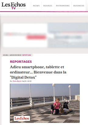 Cure Digital Detox Vichy : sans Internet, sans téléphone, vidéo Les Echos