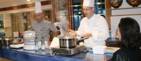 Atelier culinaire, Chef de cuisine du Vichy Spa Hôtel Les Célestins
