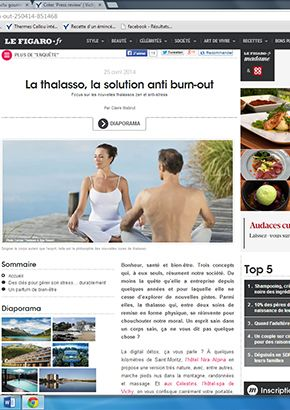 MadameFigaro.fr : La thalasso, la solution anti burn-out !