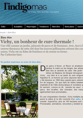 Vichy, un bonheur de cure thermale !