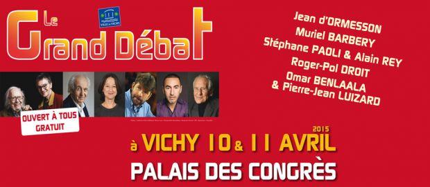 Grand débat à Vichy : 5ème édition