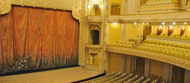 L'Opéra de Vichy, de style « Art Nouveau »