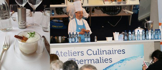 Ravioles de langoustines à l'eau minérale naturelle Vichy Célestins !