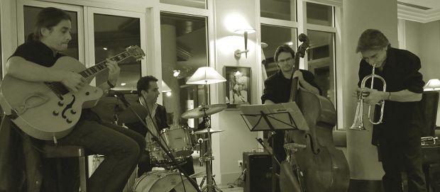 Bar Vichy : Blue Note bar avec terrasse dans le parc Napoléon III