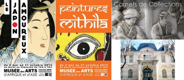 Deux magnifiques expositions au Musée des Arts d'Asie et d'Afrique à Vichy !