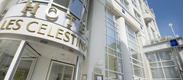 Hôtel Les Célestins 5 étoiles Vichy (Auvergne) : hôtel de luxe