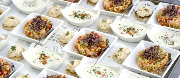 Restaurant Saveurs, Plaisir et Santé le N3 - Verrines invités
