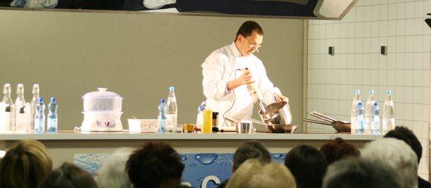 Recette culinaire du Chef, Christophe Vauthier : homard et chou-fleur