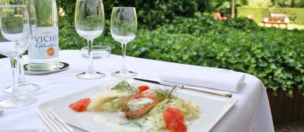 Cuisinez Santé avec la recette de filet de rouget, à l'eau Vichy Célestins