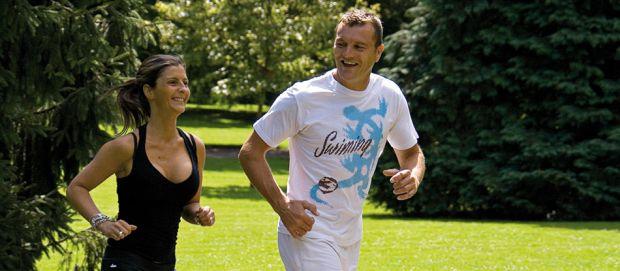 Marche active dans les parcs de Vichy