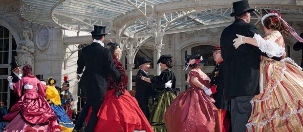 La ville de Vichy fête Napoléon III au mois d'avril 2015
