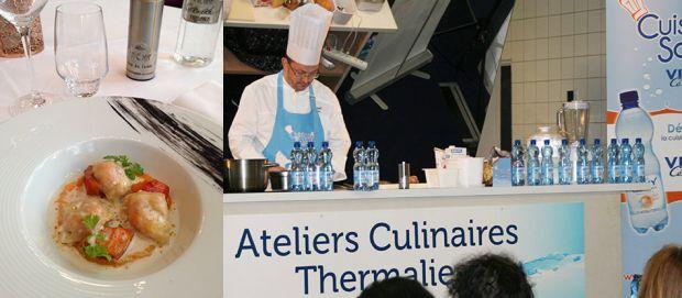 La recette du Velouté de châtaignes à l'eau minérale naturelle Vichy Célestins !