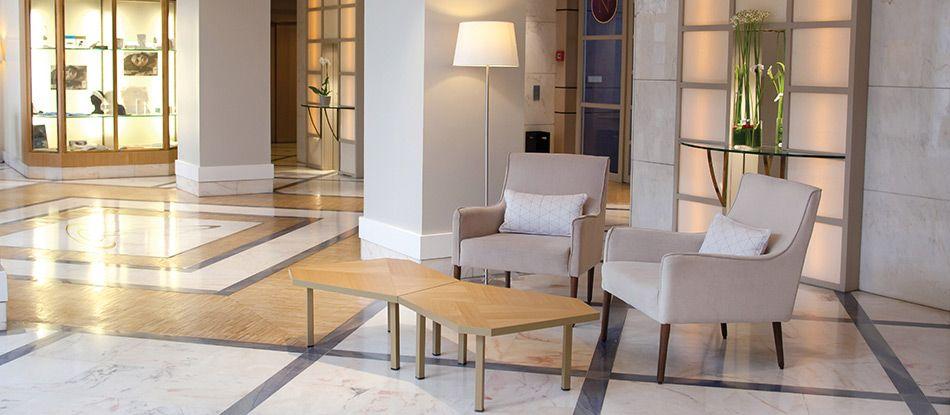 Réception de l'Hôtel Les Célestins 5 étoiles, Vichy (Auvergne)