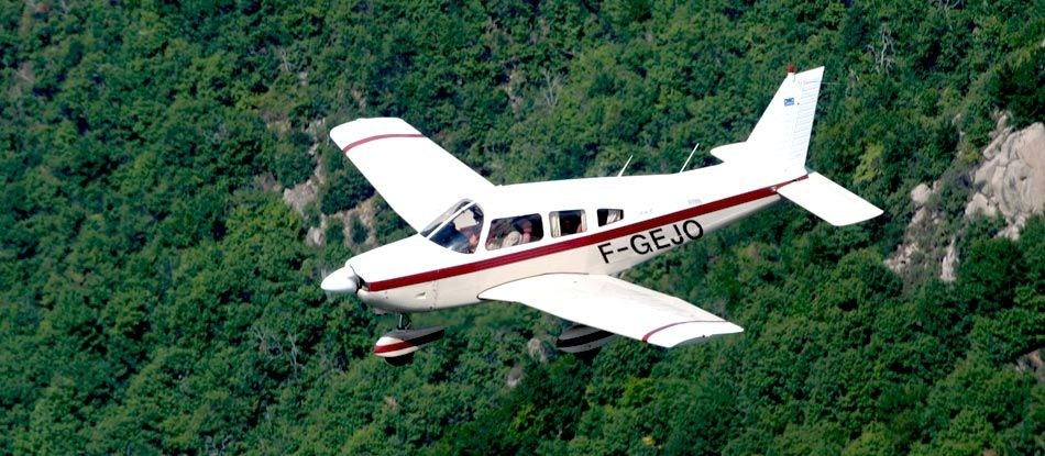 Vichy Aeroclub : first flight, initiation flight, pilot training...