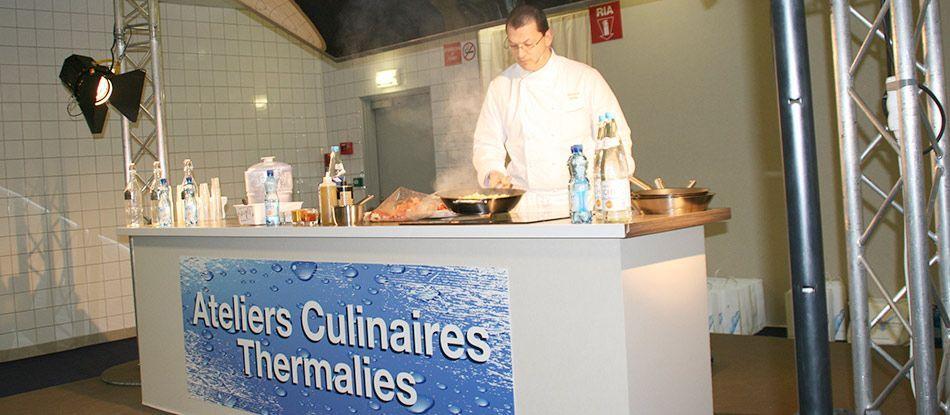 Christophe Vauthier au salon des Thermalies à Paris !