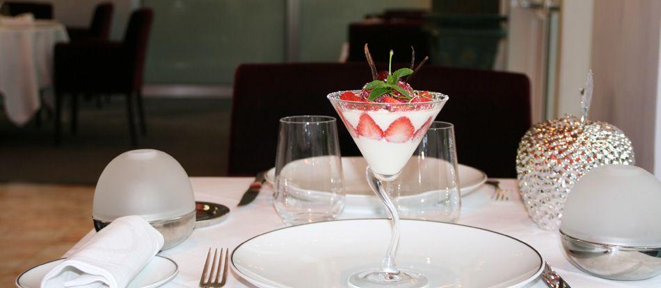 Recette de dessert à la fraise - Restaurant Le N3, à Vichy (Auvergne)
