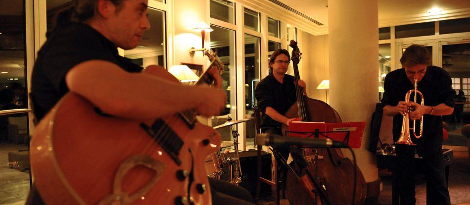 Soirée jazz au bar Le Blue Note au Vichy Spa Hôtel Les Célestins