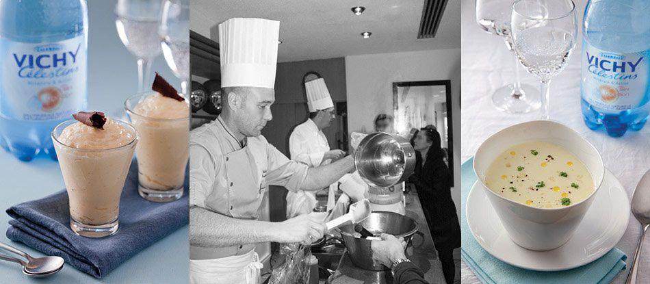 Ateliers culinaires Vichy Spa Hôtel Les Célestins 5*