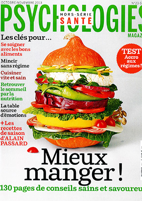 Psychologie magazine : hors série mieux manger oct nov 2013, cure minceur