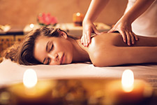 Massage relaxant dos et jambes