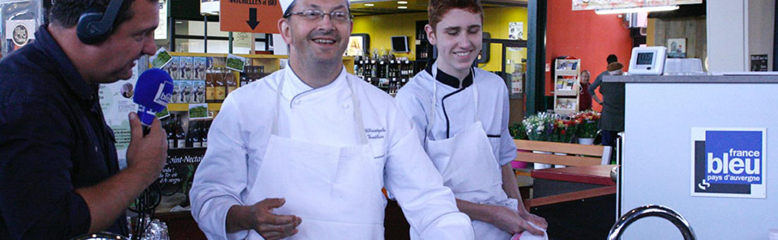 Atelier culinaire, Chef Christophe Vauthier
