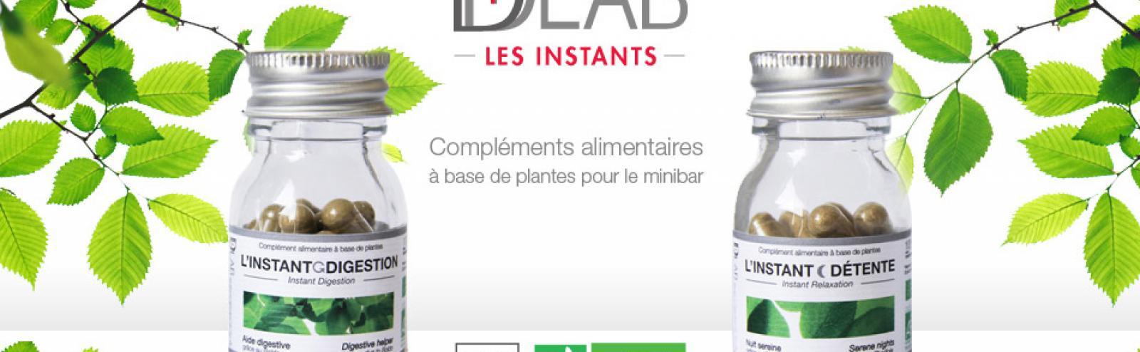 D-LAB : Les Instants Digestion & Détente disponibles dans le mini-bar chambre