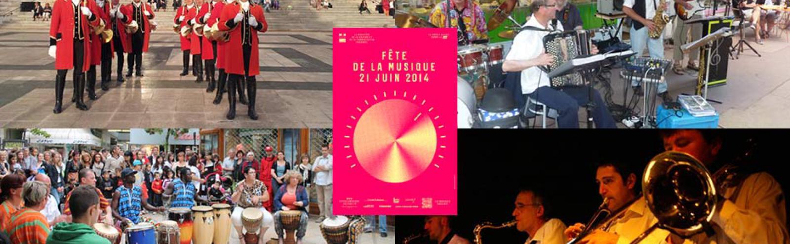 La Fête de la musique 2014 à Vichy !
