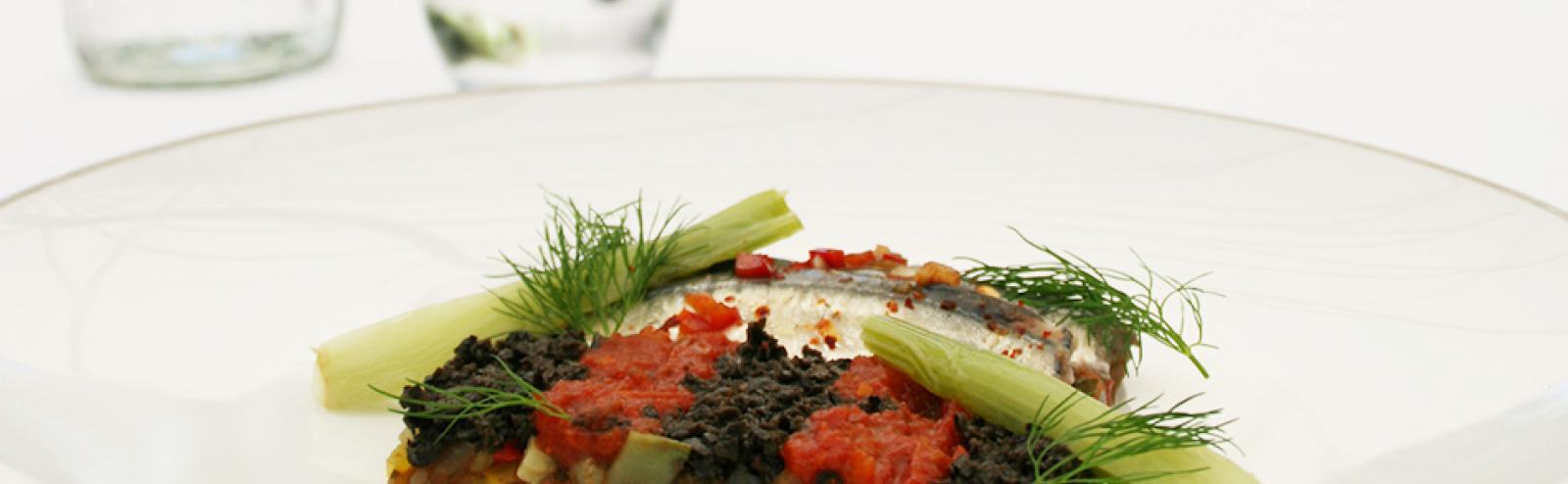 Recette de sardines marin es et ratatouille - Cuisiner des filets de sardines fraiches ...