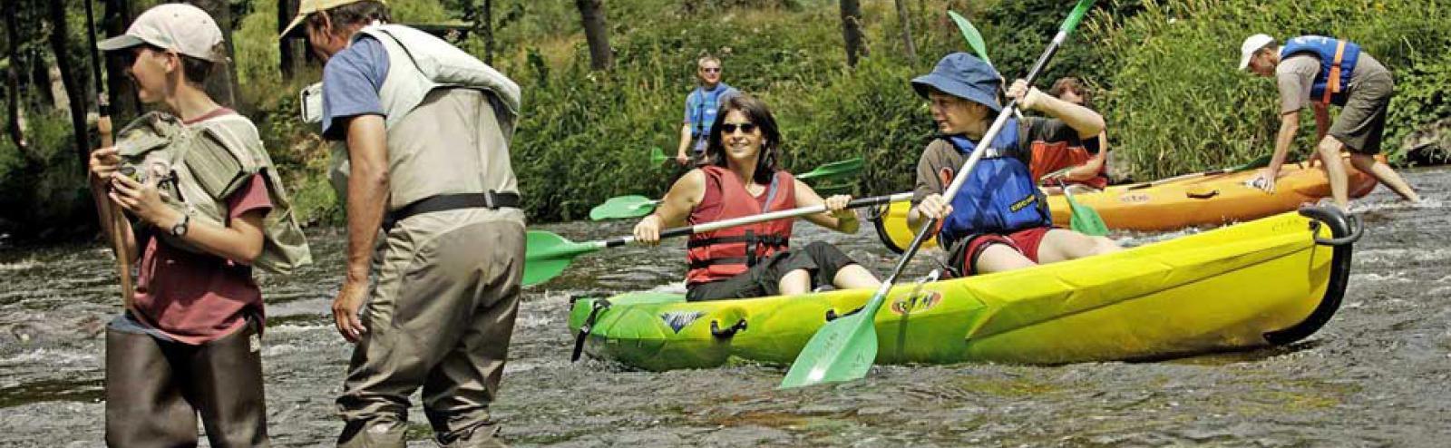 Découvrir l'Allier et ses rivières en canoë-kayak !