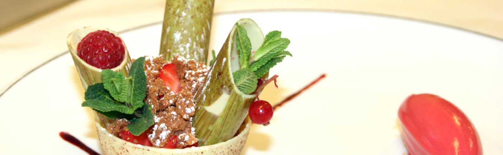 Dessert de Pâques 2012 - Restaurant Saveurs, Plaisir et Santé Vichy Spa Hôtel