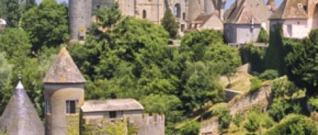 Forteresse de Bourbon-l'Archambault, le berceau - Allier - Auvergne