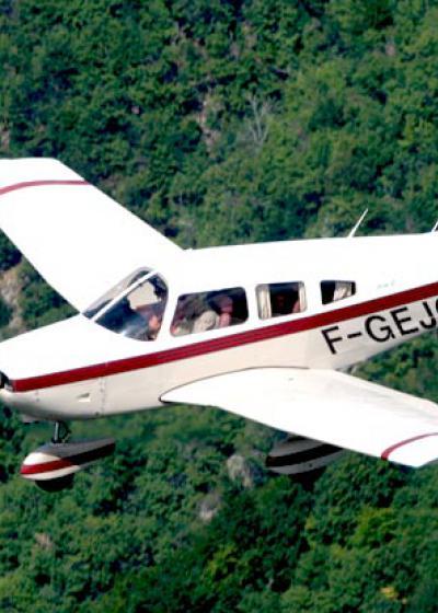 L'aéro-club de Vichy : baptême de l'air, vol d'initiation, école de pilotage...