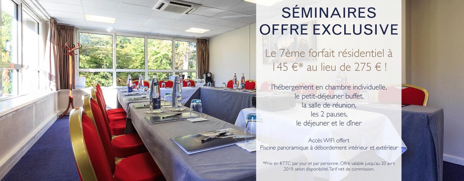 Offre exclusive Séminaire au Vichy Célestins Spa Hôtel